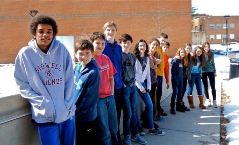 Sidwell Friends Middle School students are ready to escape winter and head to the Amazon!