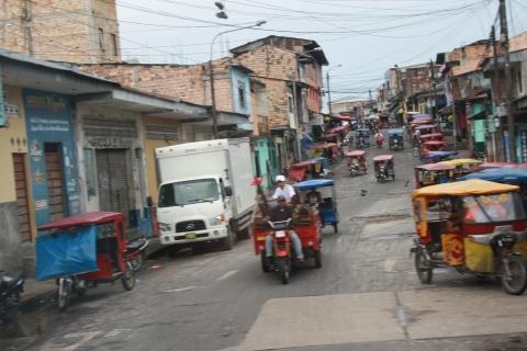 Arrival in Peru