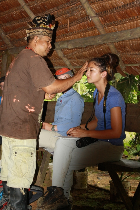 Cleansing ceremony, Amazon rainforest